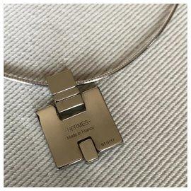 Hermès-EILEEN pendant-White