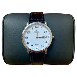 Autre Marque-Quartz Watches-Black,Silvery,White