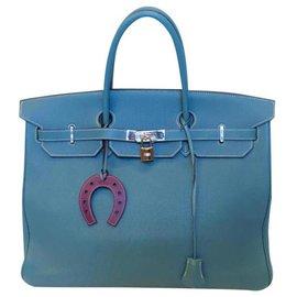 Hermès-Birkin-Bleu,Bleu clair