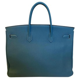Hermès-Birkin-Blue,Light blue