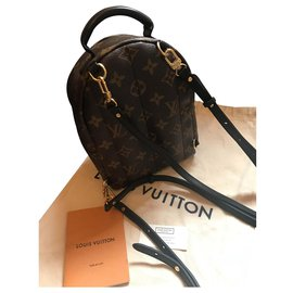 Louis Vuitton-Mini Palm spring-Noir
