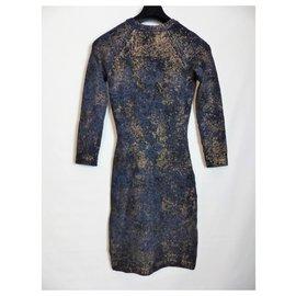 Chanel-Robes-Bleu
