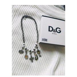 Dolce & Gabbana-Colliers-Blanc