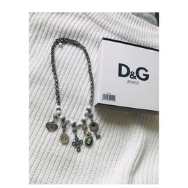 Dolce & Gabbana-Necklaces-White