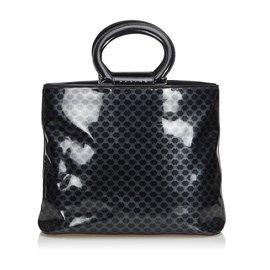 Céline-Macadam Tote Bag-Black,Other,Grey
