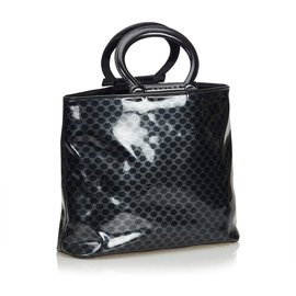 Céline-Macadam Tote Bag-Black,Other,Grey
