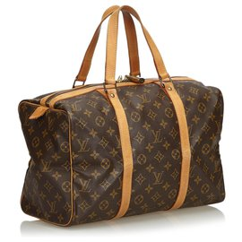 Louis Vuitton-Monogramme Sac Souple 35-Marron