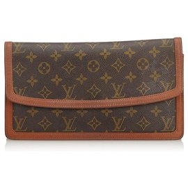 Louis Vuitton-Monogramme Pochette Dame-Marron