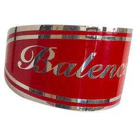 Balenciaga-Bracelets-Red