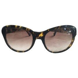 Vivienne Westwood-Des lunettes de soleil-Marron