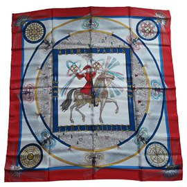 Hermès-Feux d'Artifice-Rouge,Bleu