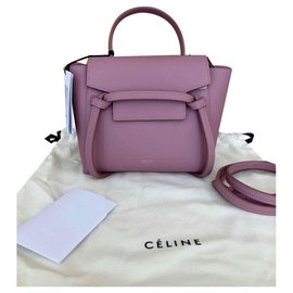 Céline-Celine nano belt antique rose-Pink