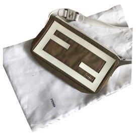 Fendi-Fendi Pochette-Khaki