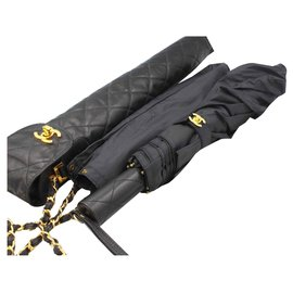 Chanel-Umbrella bag-Black