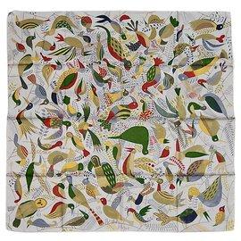 Hermès-Le BAL des OISEAUX-Multicolore