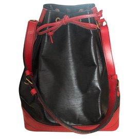 Louis Vuitton-Bucket-Black
