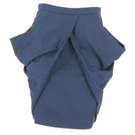 Miu Miu-Jupe-Bleu Marine