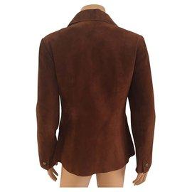 Hermès-Jackets-Caramel
