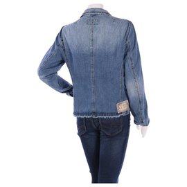Armani Jeans-Vestes-Bleu