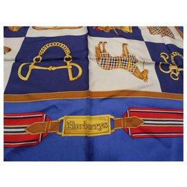 Burberry-Seiden Schals-Mehrfarben