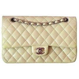 Chanel-TIMELESS-Beige,Olive green,Light green