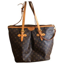 Louis Vuitton-Handbags-Brown