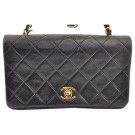 Chanel-Chanel Vintage Shoulder Bag-Black