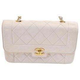 Chanel-Chanel Vintage Shoulder Bag-White