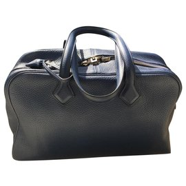 Hermès-Victoria bag 35-Blue