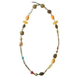 Dolce & Gabbana-Colliers longs-Multicolore