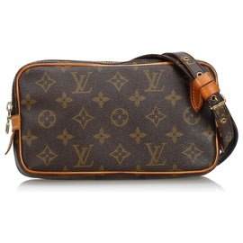 Louis Vuitton-Monogram Marly Bandouliere-Marron