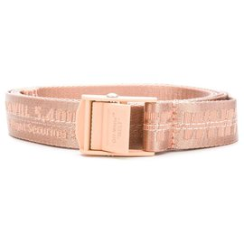 Off White-Industrial Belt-Pink