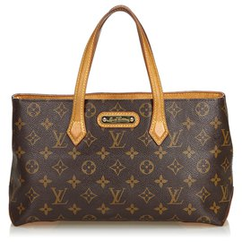 Louis Vuitton-Monogramme Wilshire PM-Marron