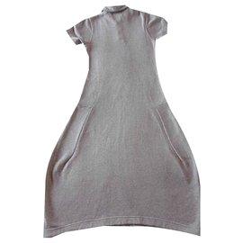 Comme Des Garcons-Comme des Garcons Maxi Dress-Gris