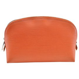 Louis Vuitton-Louis Vuitton Pochette Cosmetique-Orange