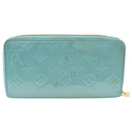 Louis Vuitton-Louis Vuitton Zippy-Turquoise