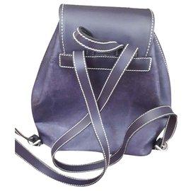 Lancel-Sacs à dos-Violet