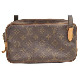 Louis Vuitton-Louis Vuitton Marly-Marron
