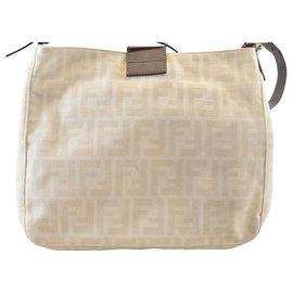 Fendi-Fendi Zucca Shoulder Bag-Other
