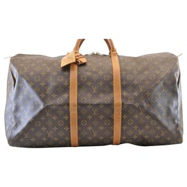 Louis Vuitton-Louis Vuitton Keepall 60-Marron