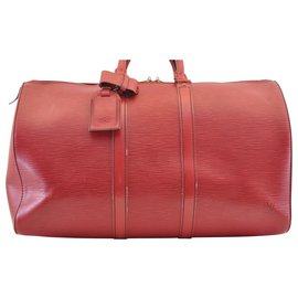 Louis Vuitton-Louis Vuitton Keepall 45-Red