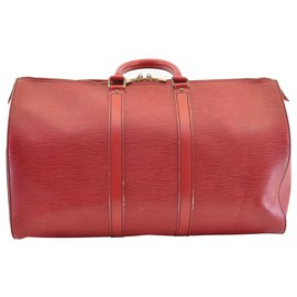 Louis Vuitton-Louis Vuitton Keepall 45-Rouge