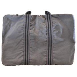 Hermès-Hermès sac cabas-Gris
