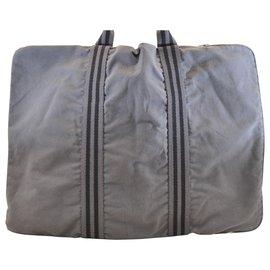 Hermès-Hermès sac fourre tout-Grey