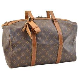 Louis Vuitton-Louis Vuitton Sac souple 35-Marron