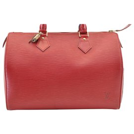 Louis Vuitton-Louis Vuitton Speedy 30-Red