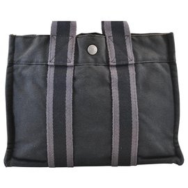 Hermès-Hermès cabas-Noir