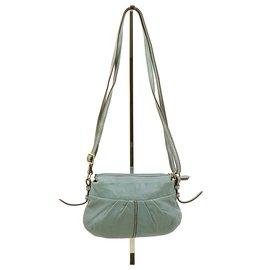 Lancel-Handbag-Light blue