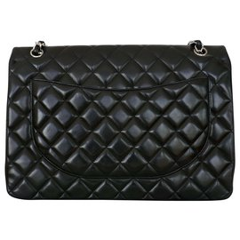 Chanel-chanel bag timeless jumbo black-Black