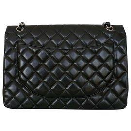 Chanel-sac chanel timeless jumbo noir-Noir